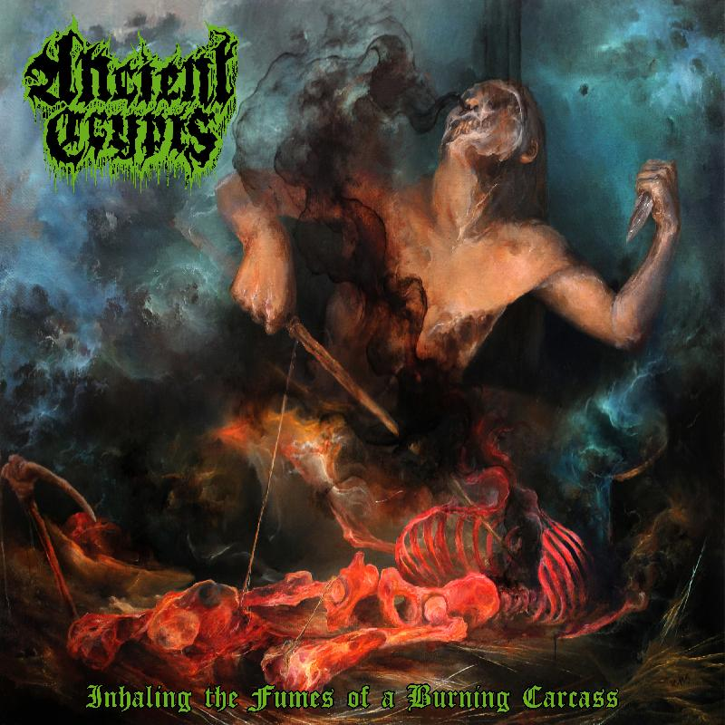 Ancient Crypts Inhaling the Fumes of a Burning Carcass